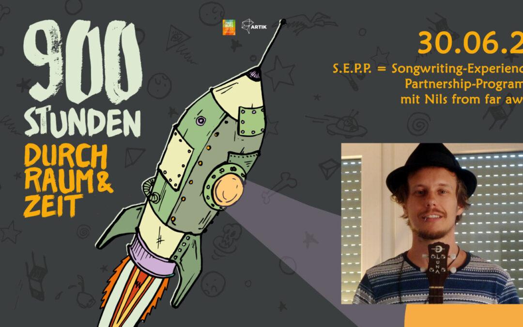 900 Stunden durch Raum und Zeit   Songwriter Workshop