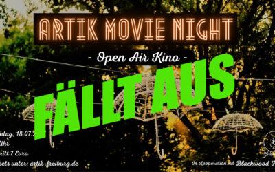 ArTik Movie Night | Open Air Kino – wird verschoben auf September