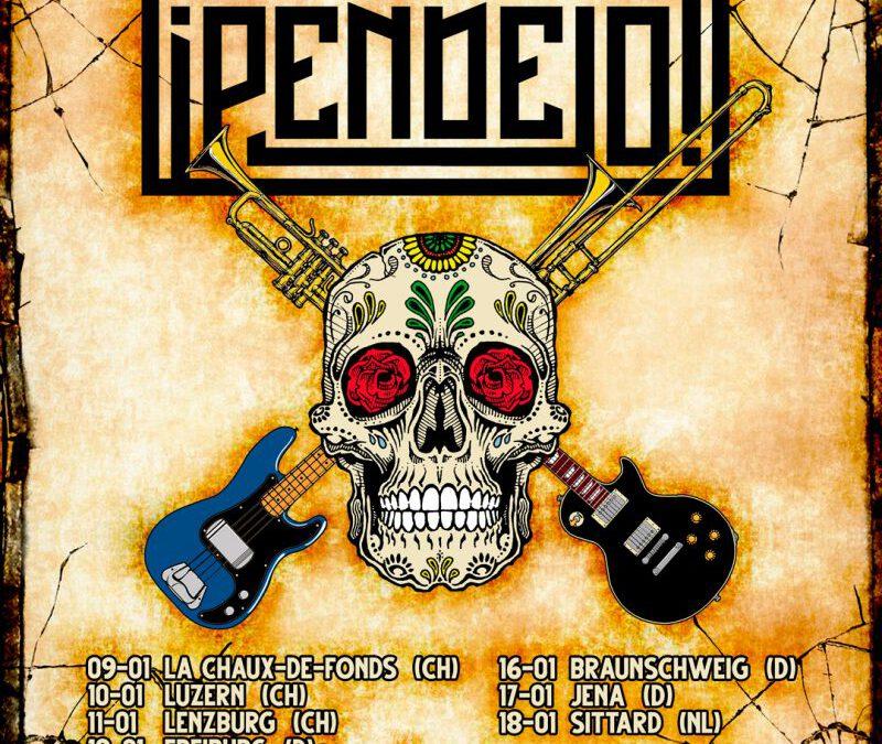 ¡PENDEJO! plus special guests AEON CRYPT